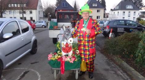 Der kleinste Karnevalsumzug der Welt
